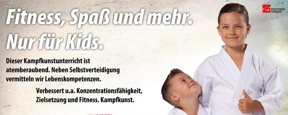 Fitness, Spaß und mehr. Nur für Kids.