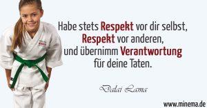Respekt Kampfkunst